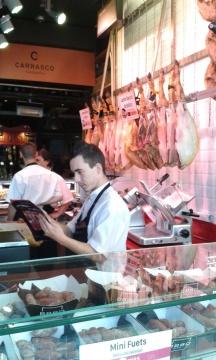 In the Mercado.