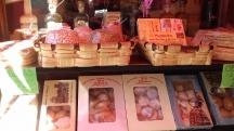 Yummy pastries in La Alberca.