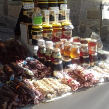 Honey and other goodies at La Alberca