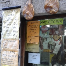 Shop in La Alberca