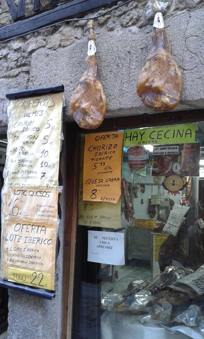 Shop in La Alberca