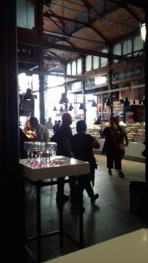 In the Mercado de San Miguel