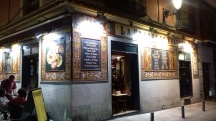 Such inviting bars in Madrid...
